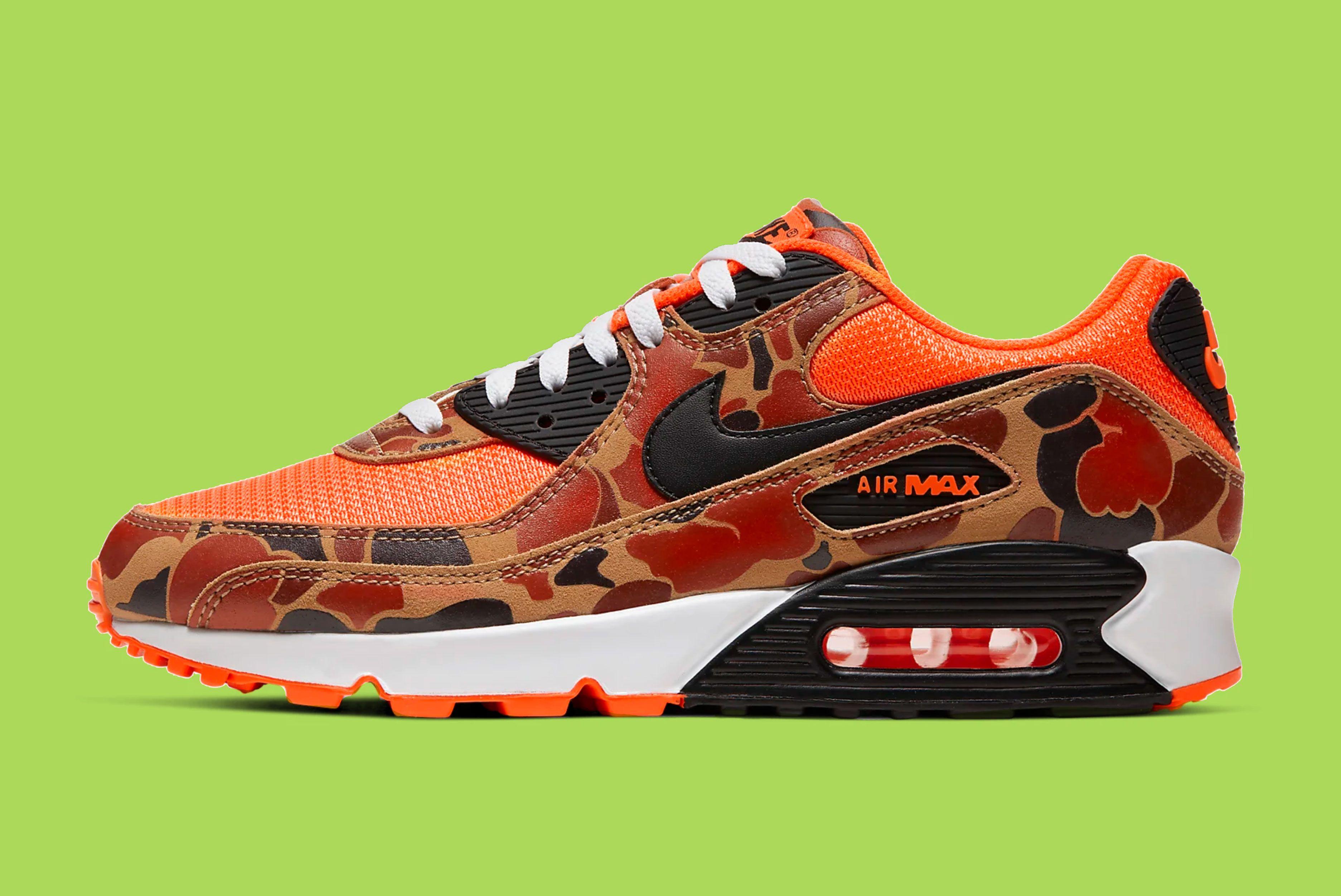 Nike Air Max 90 (Orange Camo)