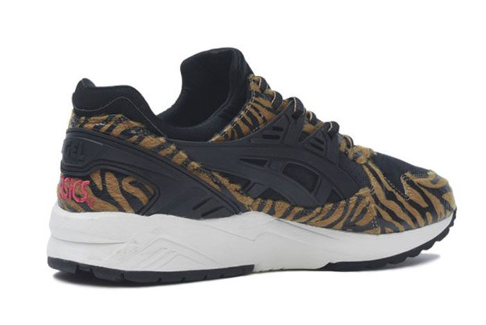 Asics Tiger Gel Kayano Trainer Animal Print 3 Angle