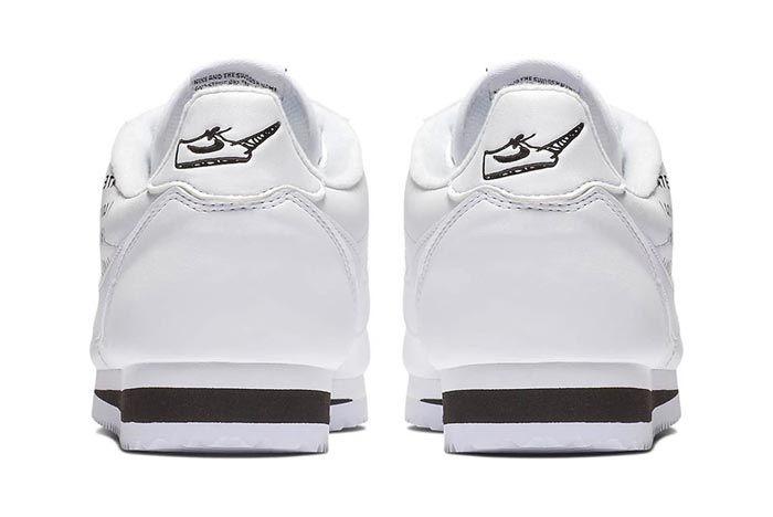Nike Cortez Bell White Heels