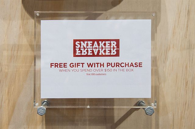 Sneaker Freaker Popup At Super Glue Highpoint 13