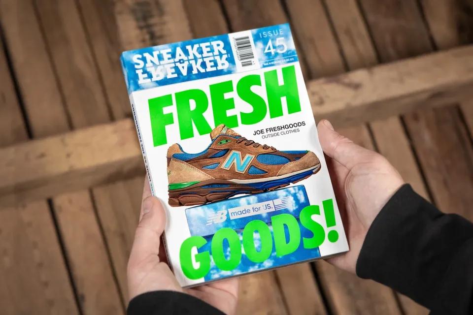 Sneaker Freaker joe freshgoods new balance issue 45