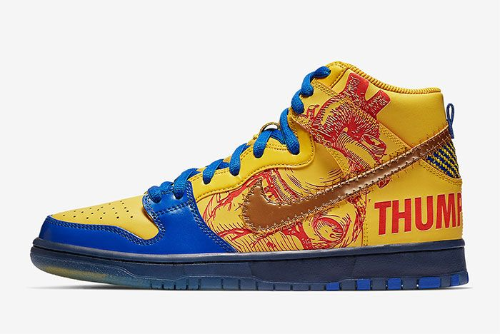 Nike Sb Dunk High Doernbecher Release Date Left