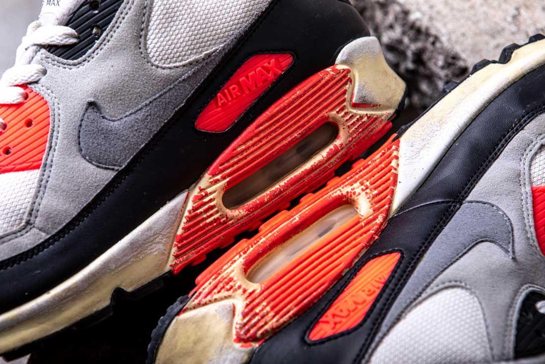 Nike Air Max 90 Infrared 2008 Air Units