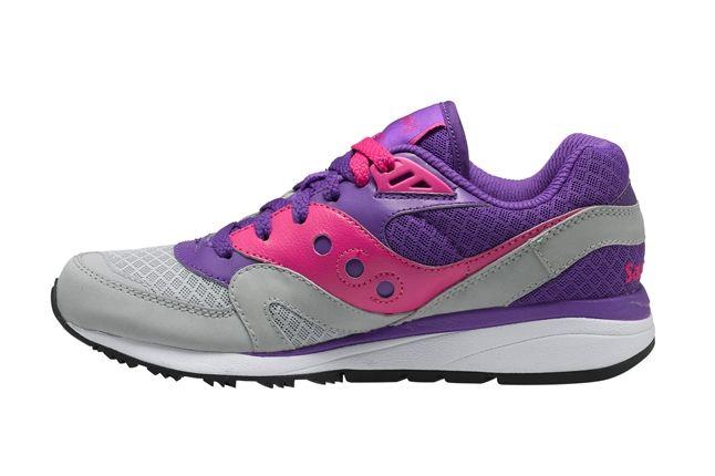 Saucony Master Control Girls Purple Profile 1