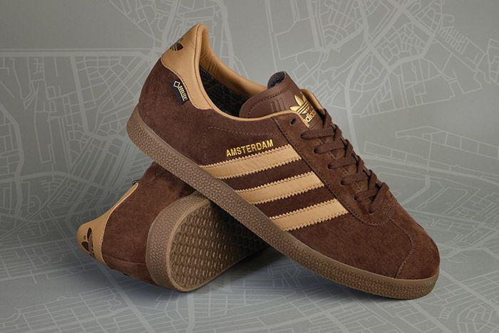 Size Adidas Gazelle Gtx Amsterdam Brown 1