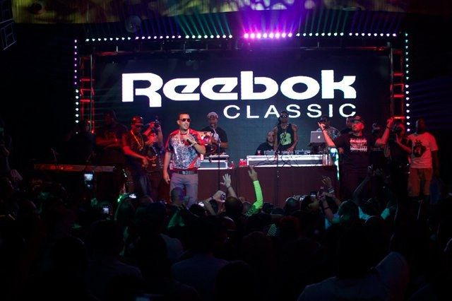 Reebok Classics Project Las Vegas French Montana Performing