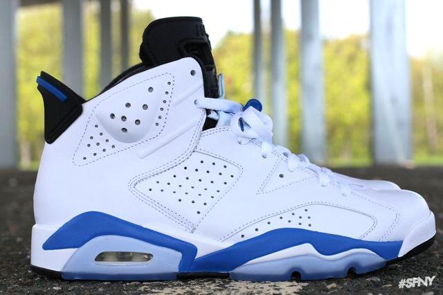 Air Jordan 6 Sport Blue 10