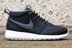 Nike Rosherun Mid Black Stitch Thumb