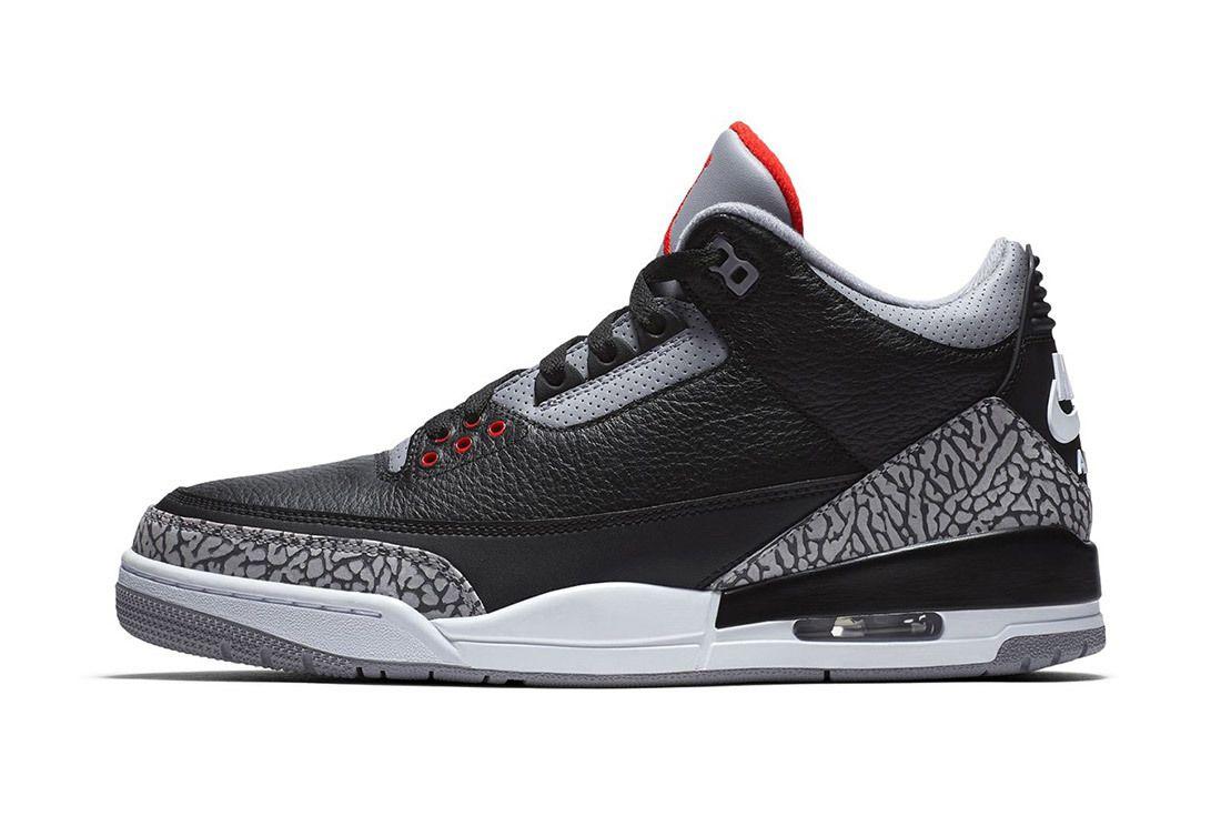 Nike Air Jordan 3 Black Cement Official Images Release Date Sneaker Freaker 2