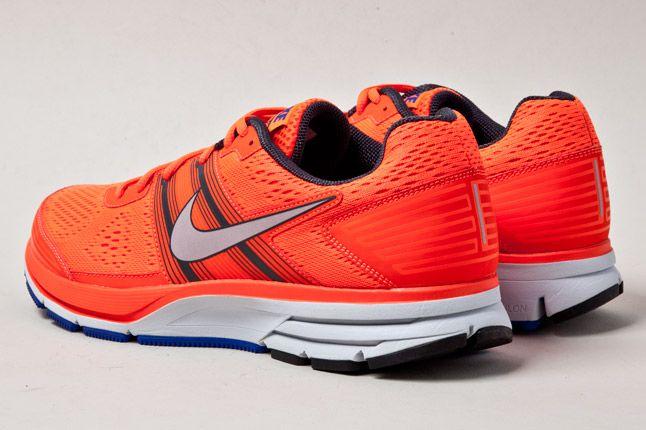 Nike Pegasus 29 Fluro Orange Heels 1