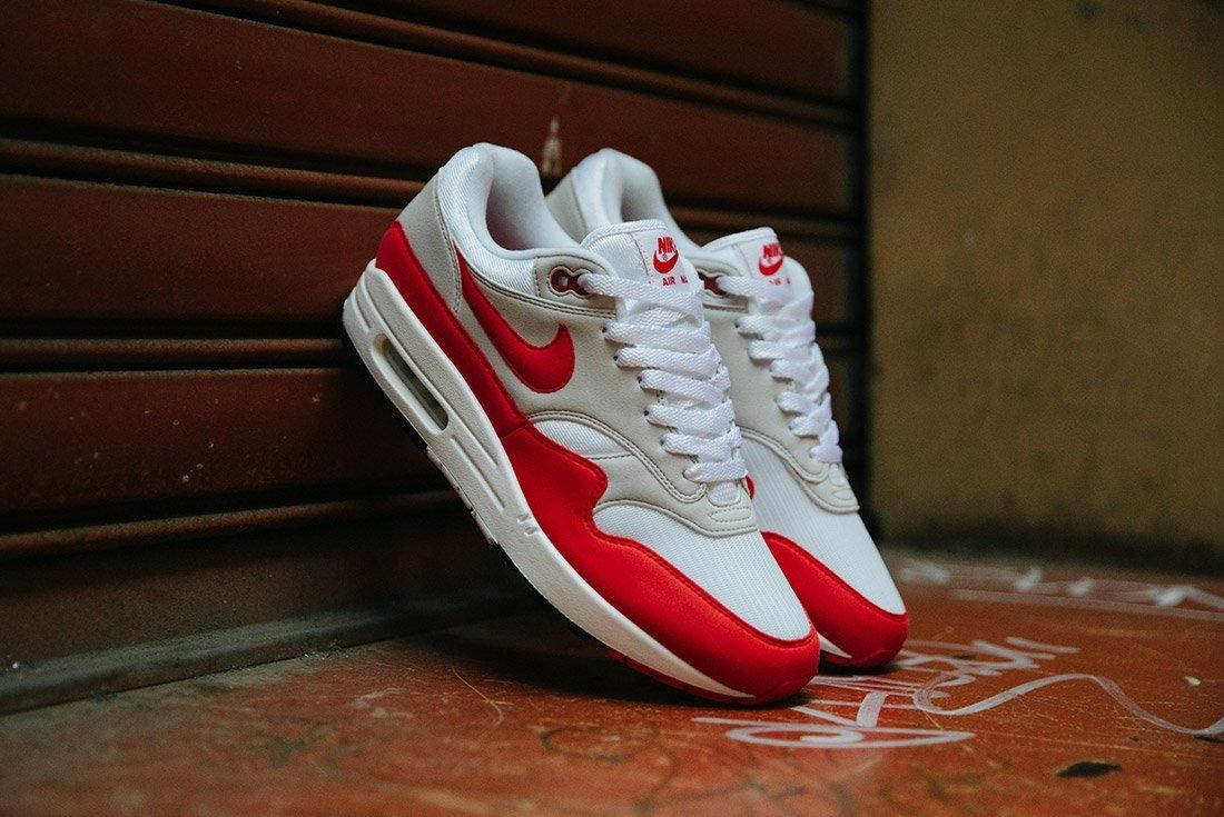 Nike Air Max 1 Anniversary Og Red White 2