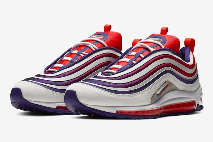 Nike Air Max 97 Ultra Court Purple Infrared Left