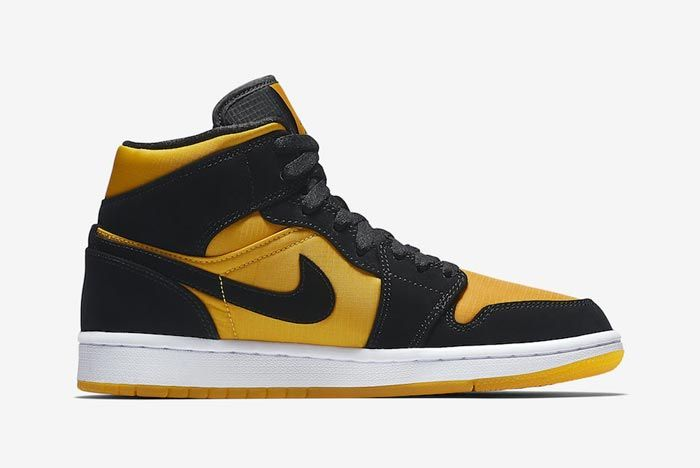 Air Jordan 1 Black University Gold Medial