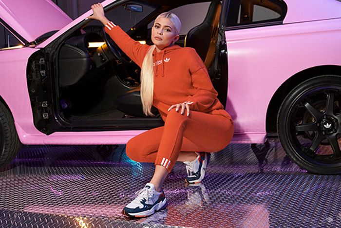 Kylie Jenner Adidas Falcon Release 3