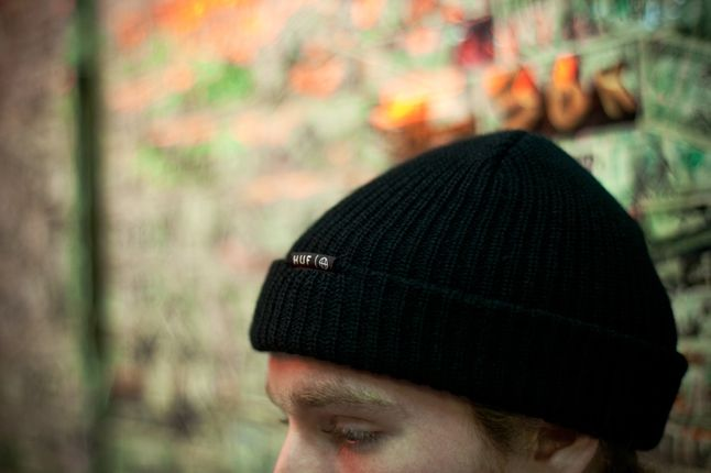 Huf Spring 13 D1 Lookbook Brian Kelley Beanie 1