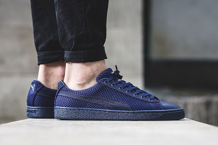 Puma Basket Tech Navy Blue 1
