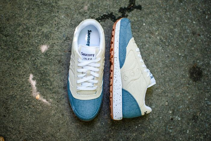 Saucony Jazz Original Denim White 4