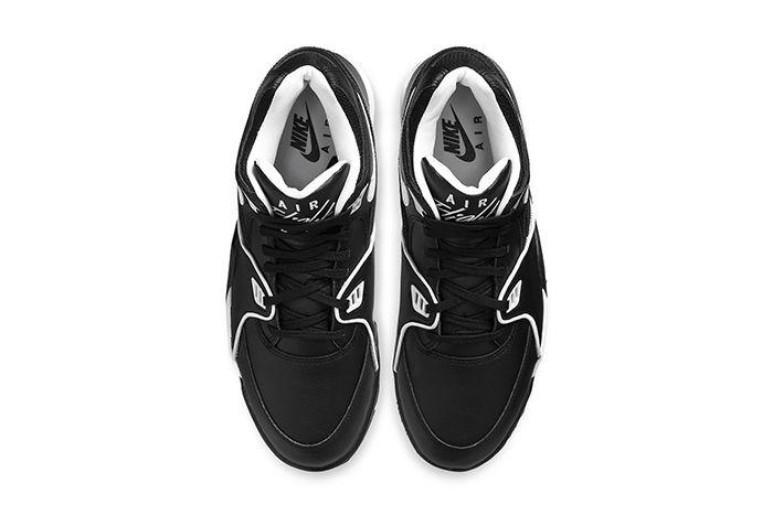 Nike Air Flight 89 Black White Cu4833 015 Release Date Top Down