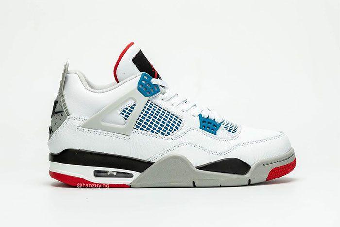 Air Jordan 4 What The Right