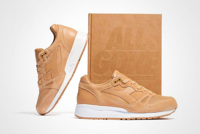 La Mjc Diadora S8000 All Gone 2010 Tan Leather Thumb