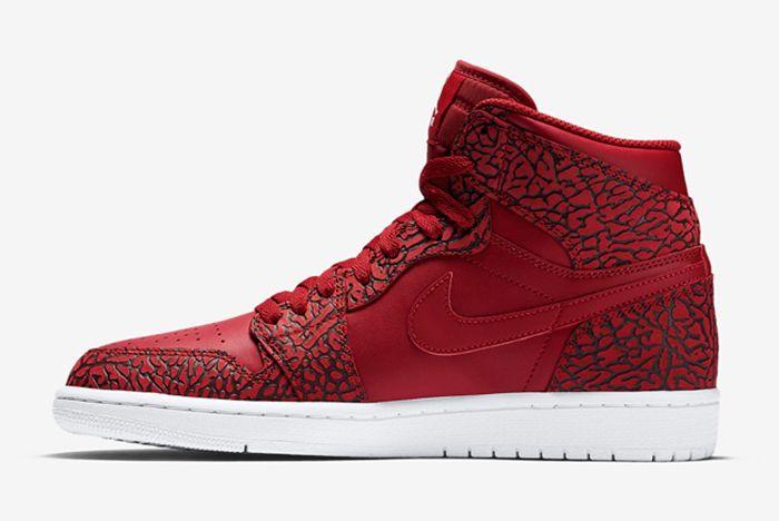 Air Jordan 1 High Red Elephant5