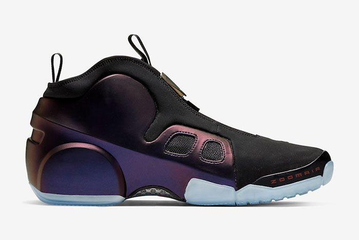 Nike Air Flightposite 2 Eggplant Cd7399 500 Medial
