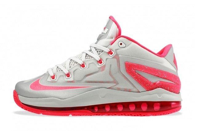 Nike Lebron 11 Low Laser Crimson 4
