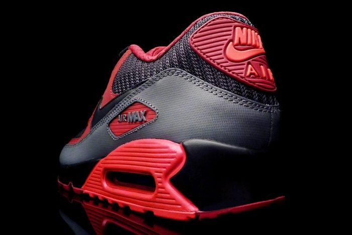 Nike Am90 Infrared Team Red 2