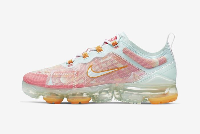 Nike Air Vapormax 2019 Pink Orange Lateral