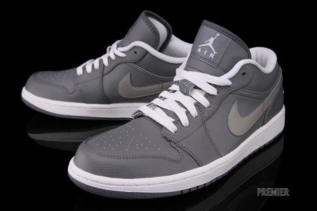 Air Jordan 1 Low Cool Grey Hero Front 1