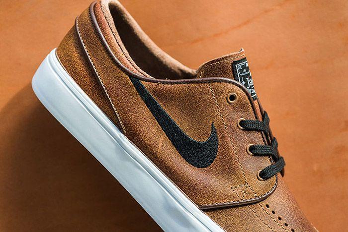 Nike Sb Stefan Janoski Ale Brown Leather 3