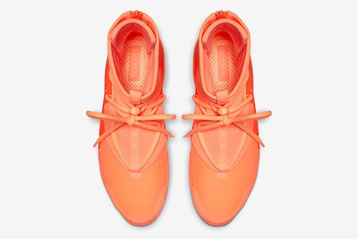 Nike Air Fear Of God 1 Orange Pulse Top