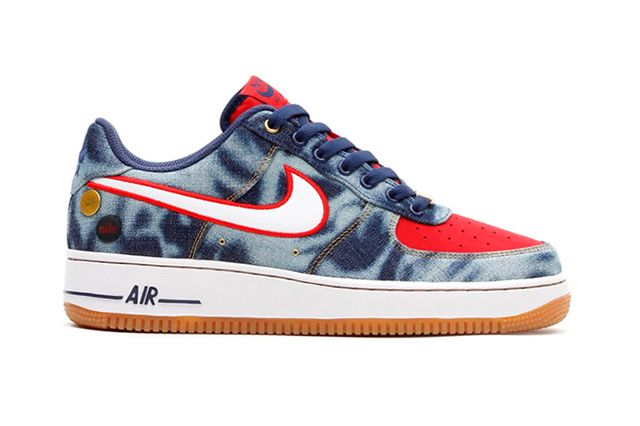 Nike Air Force 1 07 Acid Wash Denim