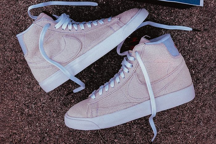 Stranger Things Nike Blazer Mid Starcourt Mall Pair