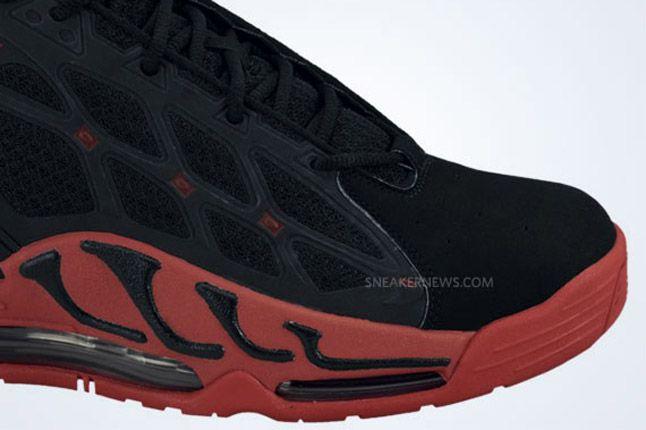 Nike Air Max Pillar Black Sport Red Toe 1