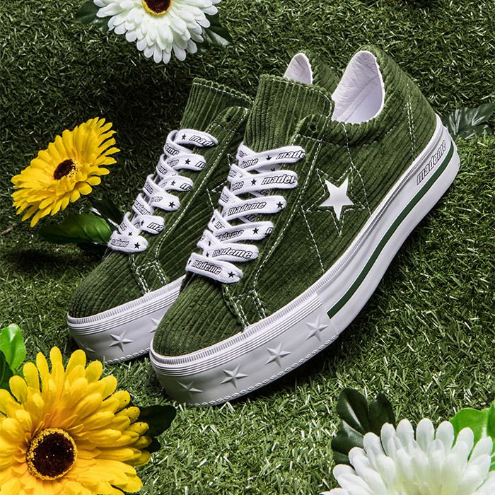 Converse Mademe Green Pair
