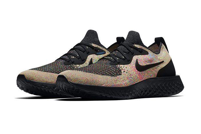 Nike Epic React Flyknit Multicolour Black 1