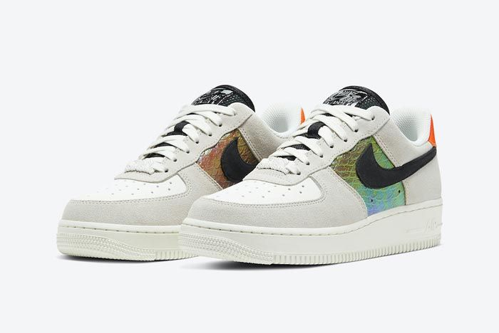 Nike Air Force 1 Snakeskin Pair