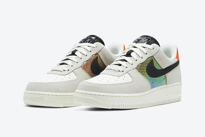 Nike Air Force 1 Snakeskin Pair