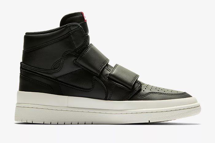 Air Jordan Double Strap Black 1