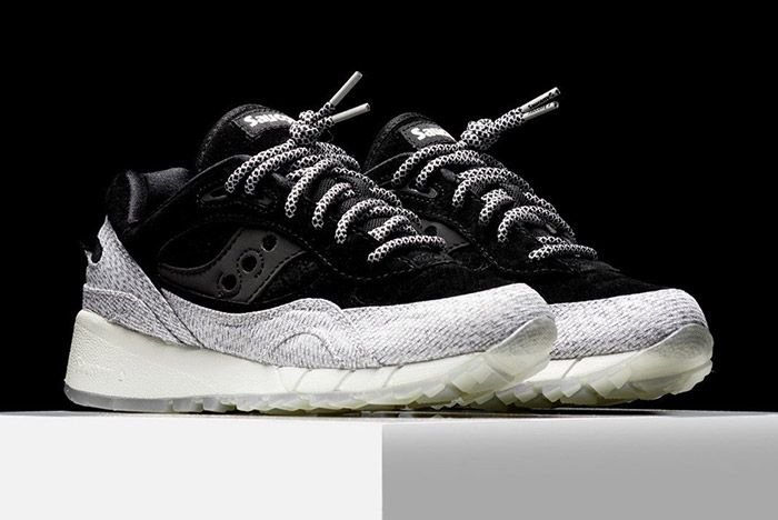Saucony Dirty Grid 8000 Black 4