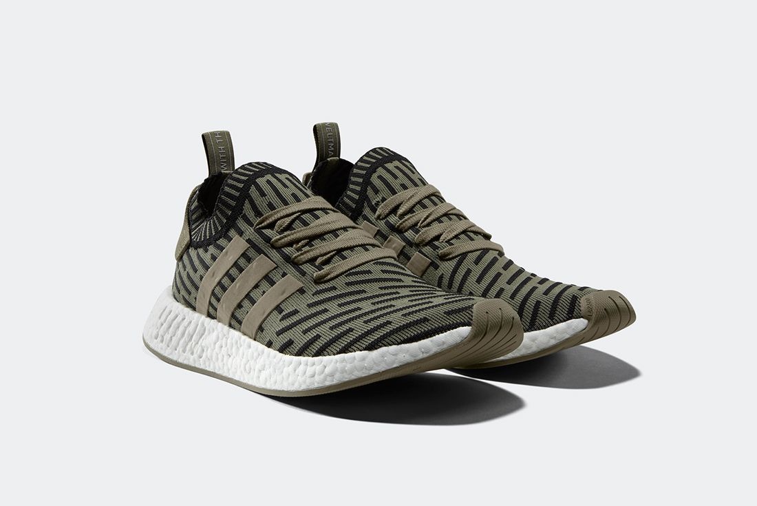Adidas Nmd R2 Olive Shadow Noise 2