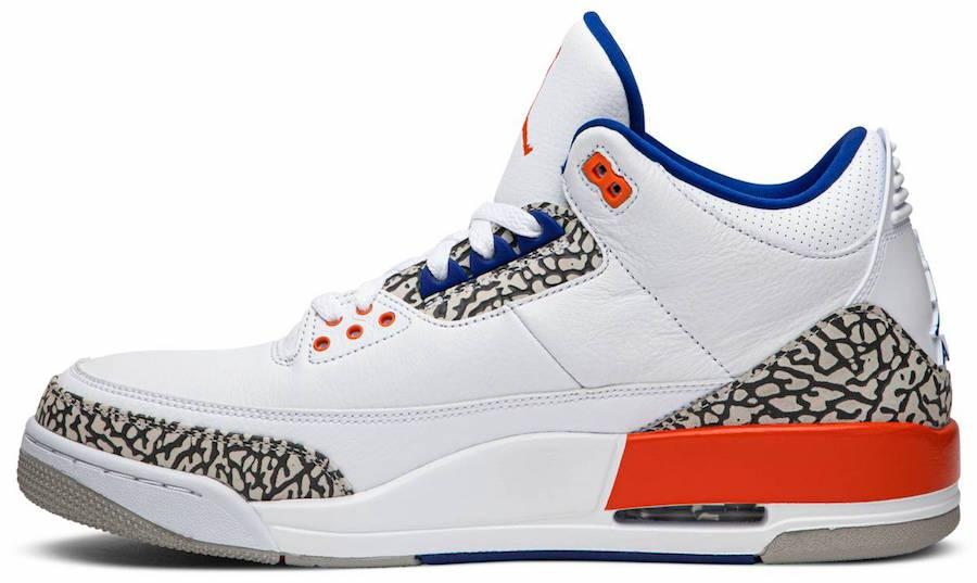 Air Jordan 3 Knicks 136064 148 2019 Release Date 1