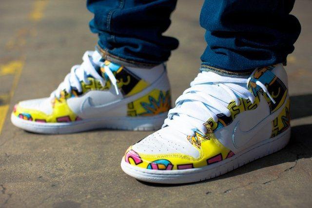 A Closer Look At The De La Soul X Nike Sb Dunk High 1
