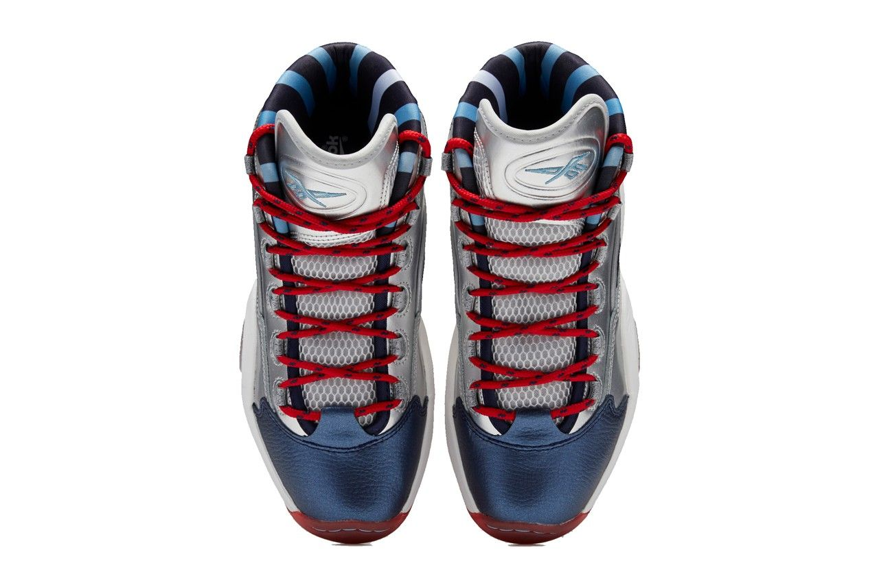 "Reebok Question Mid Iverson x Harden ""Crossed Up, Step Back"""