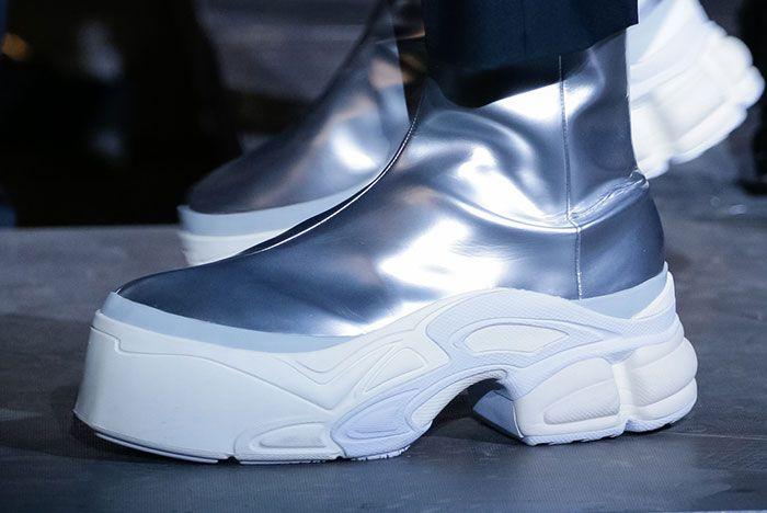 Raf Simons Adidas Ss19 Ozweego Silver 2