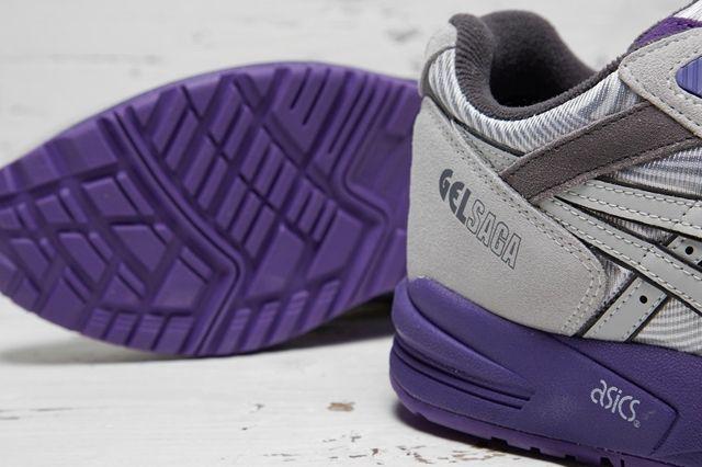 Asics Gel Saga Grey Purple 3
