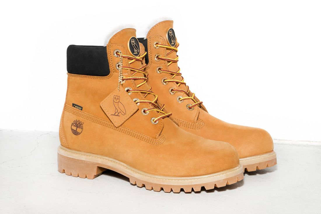 Ovo X Timberland Wheat Sneaker Freaker