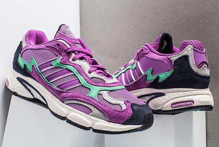 Adidas Temper Run Purple Teal 2