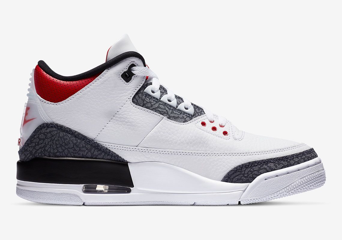 Air Jordan 3 Fire Red Right